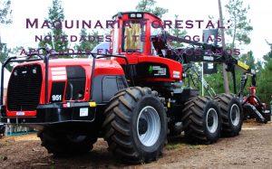 Maquinaria forestal. Novedades y tecnologías aplicadas