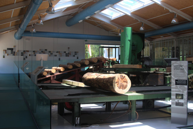 Cicum. Centro de interpretación de la cultura maderera